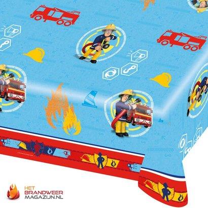 Fireman Sam tablecloth