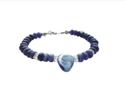 Sodaliet en kyaniet,  Blue drop
