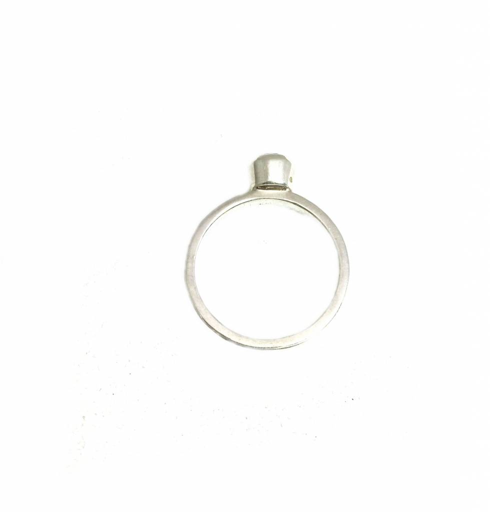 Stackable rings Amethist (rond)