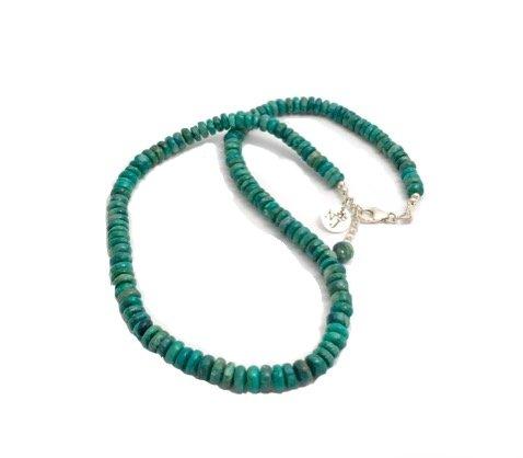 Strong Blue shattuckite necklace