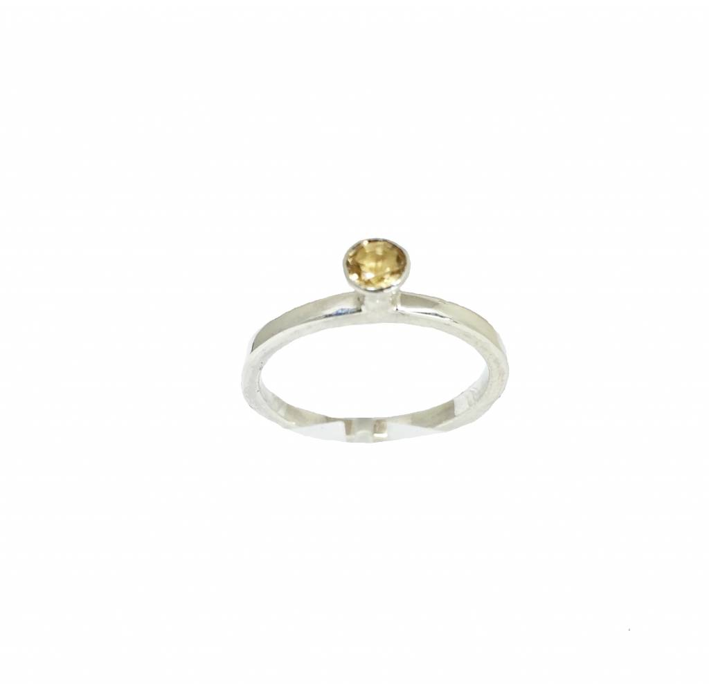 Stackable rings Citrien ring