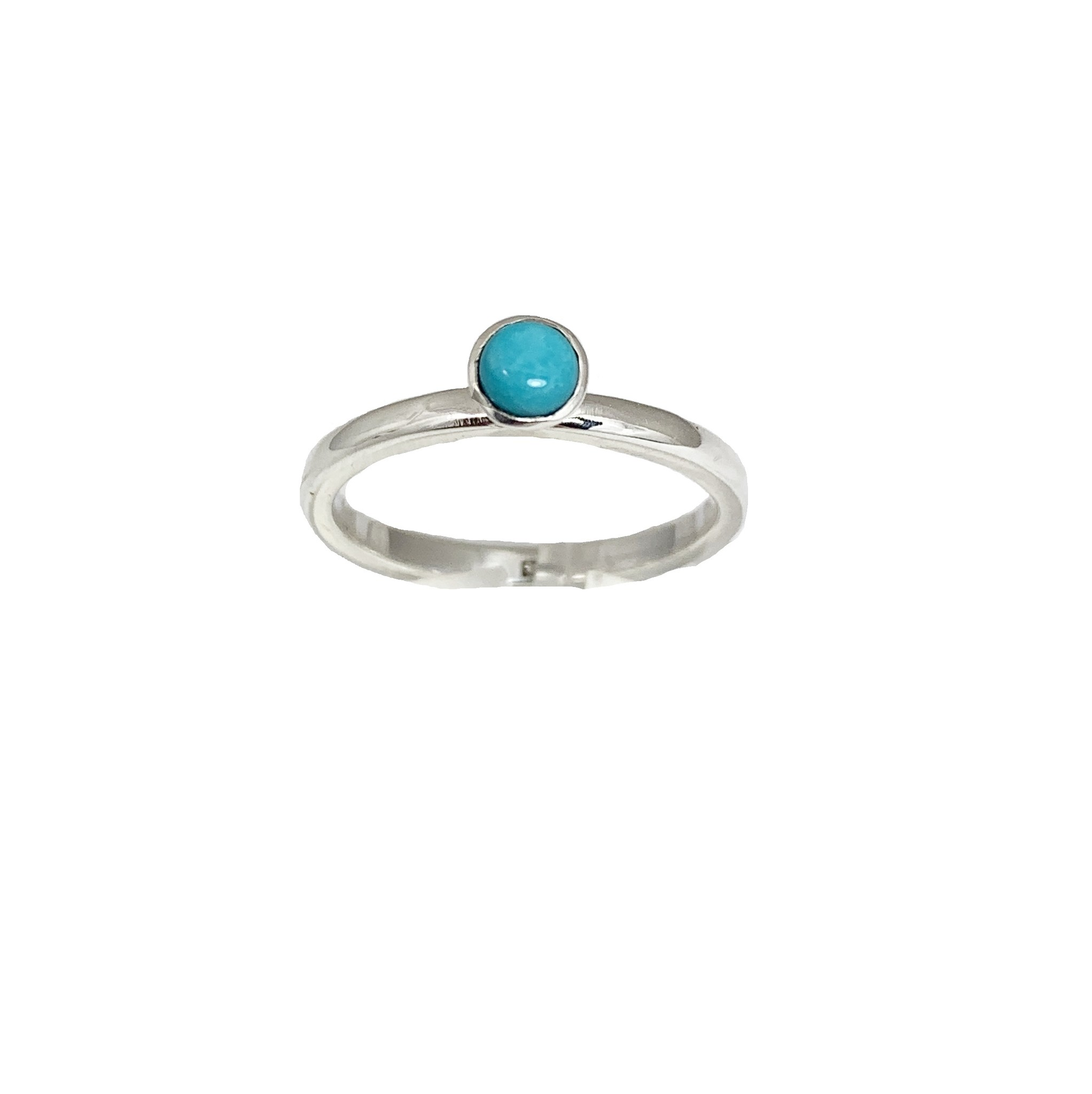 Stackable rings Turkoois