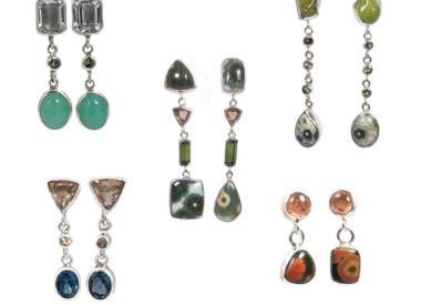 Silver Dangle & Drop earrings