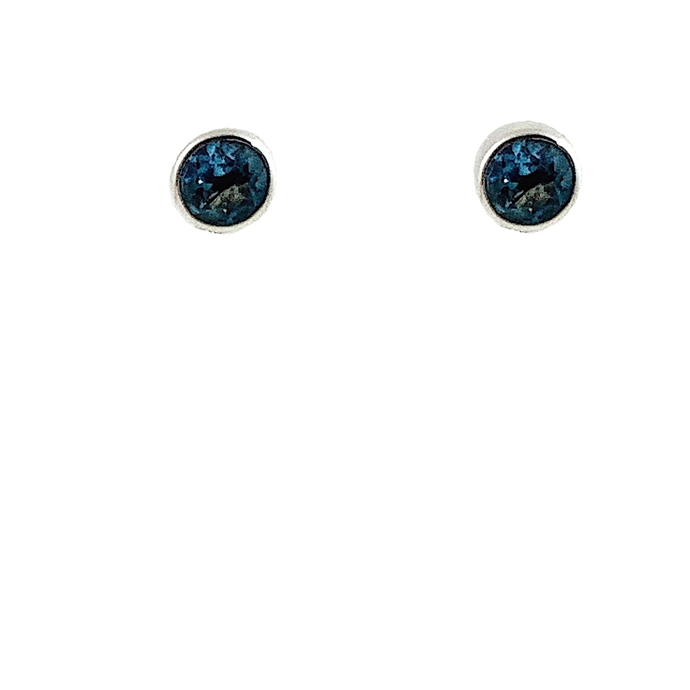 Kiliaan collectie Earstuds London blue topaz