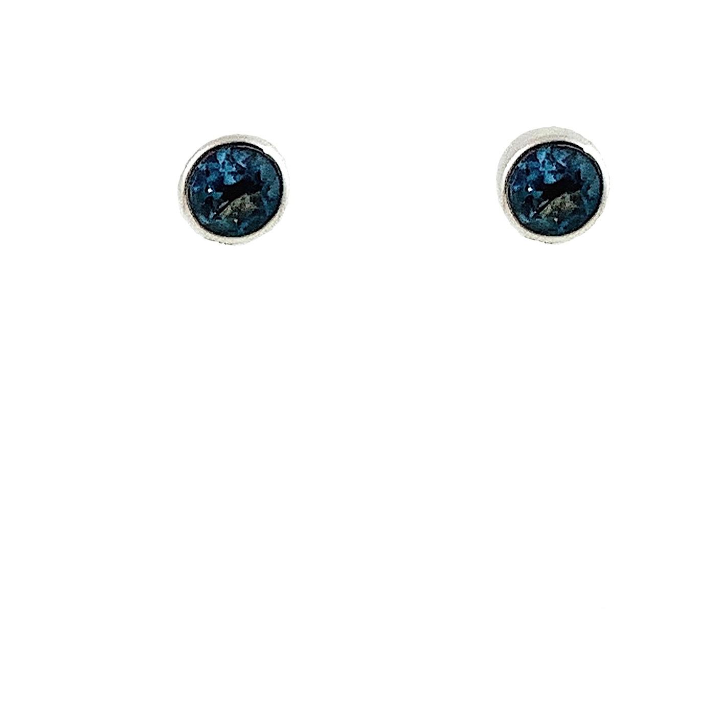 Kiliaan Jewelry Collectie Oorsteker Londen blue topaas