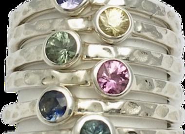 Birthstone September sapphire