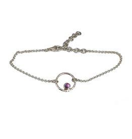 Cadeau idee Bracelet  Circle of Life amethyst