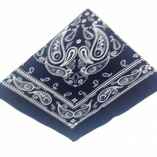 Boerenzakdoek donkerblauw klein