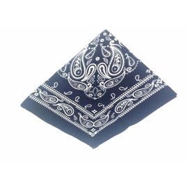 Small Farmer Handkerchief darkblue small