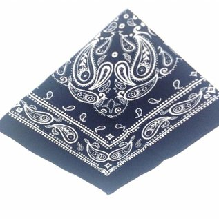 Small Farmer Handkerchief darkblue