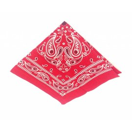 Farmers handkerchief in the color red