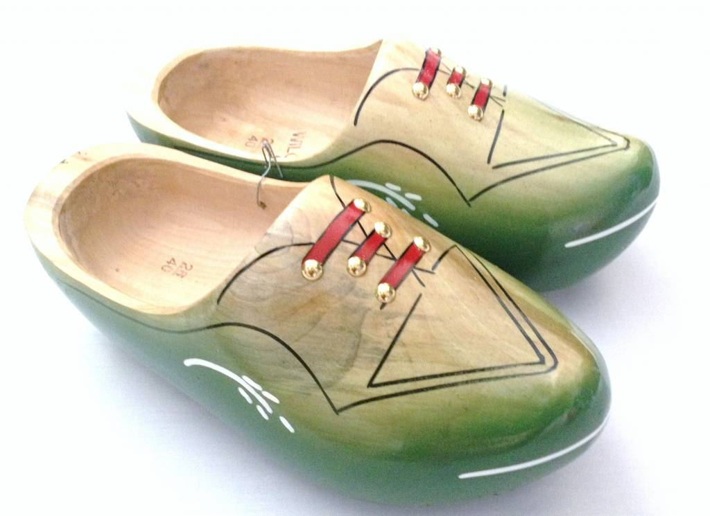 The most beautiful wooden shoes come from Holland