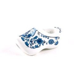 Kerchief shoe 7cm with delft blue windmill