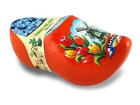 Souvenir clogs with flower seeds