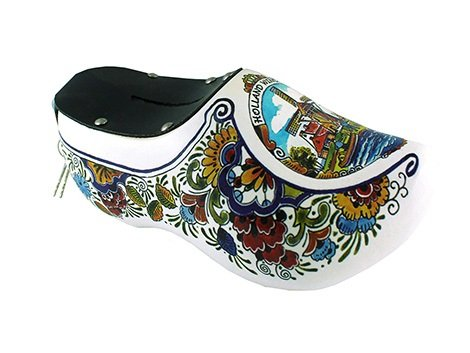 Save for a fortune in one of the beautiful piggy bank clogs
