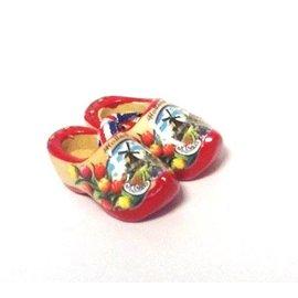 Souvenir Clogs rote Sohle 6cm