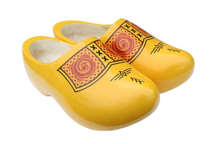 Spring in with a fresh pair of wooden shoes