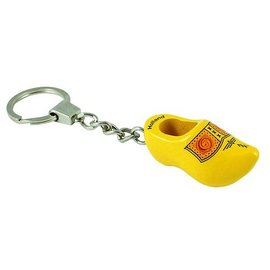 Keychain clog farmer yellow