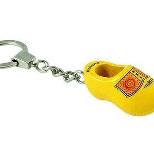 Schlüsselring clog Bauern Gelb
