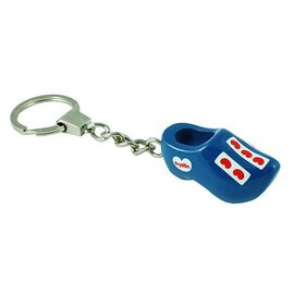 Blue clogs key ring Frisian