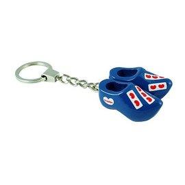 Blue keychain clog Friesland