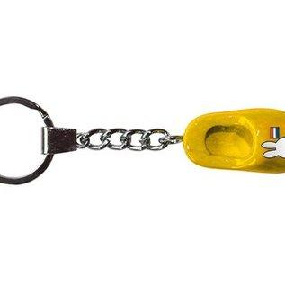 sleutelhanger geel klompje 4 cm nijntje
