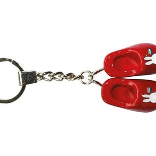 keychain 2 red clogs Miffy