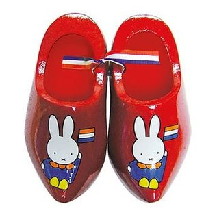 rote Souvenir Clogs Miffy