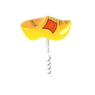 Corkscrew clog farmer yellow