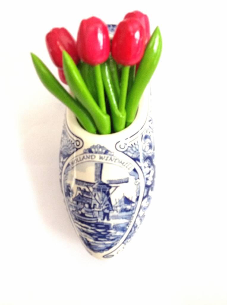 Order wooden tulips online