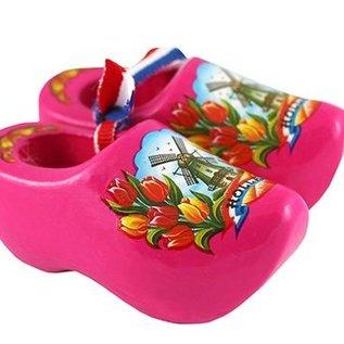 Souvenirs clogs pink 8 cm