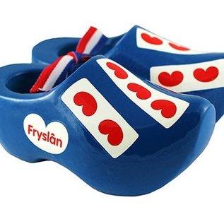 blue souvenirs clogs Friesland 8 cm