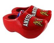 Souvenirs wooden shoes 8 cm