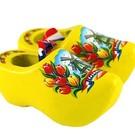 souvenirs klompjes geel 8cm