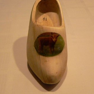 Buy wooden shoes with the image of a favorite animal