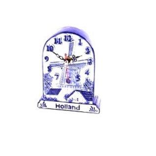 Stehende Uhr Delft Blaues Holland