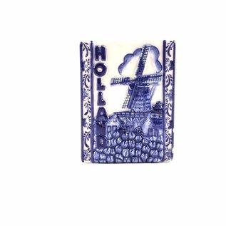 Magnet Delft blue tile Holland