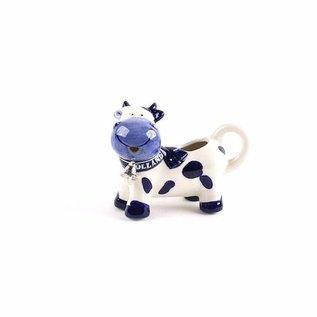 Kuh Milchkännchen Delfter Blau | Original-Delft-Blau als Kuh Milchkanne zu verwenden