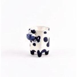 eierdop delftsblauw koe