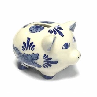 piggy bank delfts blue