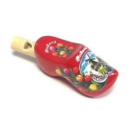 clog whistles red