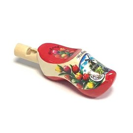 clog whistles red sole