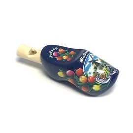 Clog whistles blue