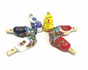 wooden clog whistles