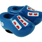 Blue frisian magnet clogs