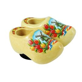 clogs with a magnet varnished