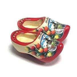Magnetic souvenirsclogs red sole