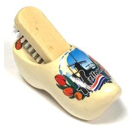 souvenir clog with brush