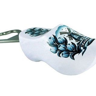 Bottleopener souvenirsclog with text