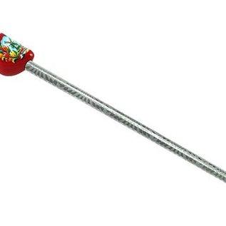 potlood klompjes in de kleur rood met molen